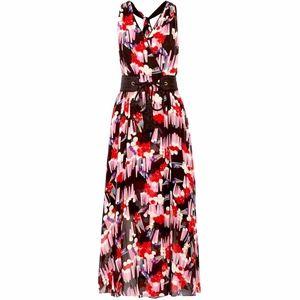 Marc Jacobs Long Maxi  Dress, Silk Wrap Dress, NWT
